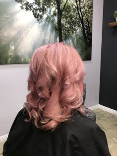 My beautiful Rose Metallic hair! In love with it