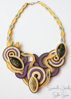 Handmade Soutache necklace