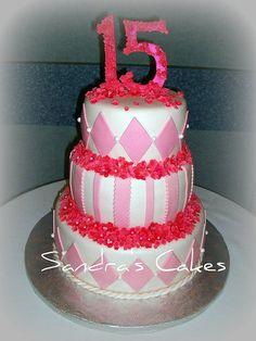 Quinceanera cake.