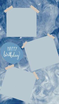 Happy Birthday Template, Happy Birthday Frame, Happy Birthday Posters, Happy Birthday Wallpaper, Birthday Posts, Happy Birthday Images, Birthday Captions Instagram, Birthday Post Instagram, Creative Instagram Stories