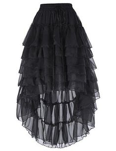 be0fe5de1498d3 Belle Poque Women Gothic Steampunk Skirt With Draw String BP227