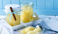 Dairy, Pudding, Cheese, Desserts, Food, Pear Recipes, Canning, Vegetarian Recipes, Syrup