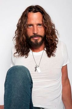 """The alternative rock artist, Chris Cornell, has added a second North American leg to his world tour, called the """"Higher Truth World Tour,"""" for June and July. Chris Cornell, Entertainment Weekly, Future Concert, Say Hello To Heaven, Beautiful Men, Beautiful People, Higher Truth, Andy Garcia, Clive Owen"""