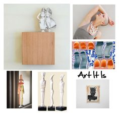 """""""Art It Is"""" by sunsanjewelry ❤ liked on Polyvore featuring art"""