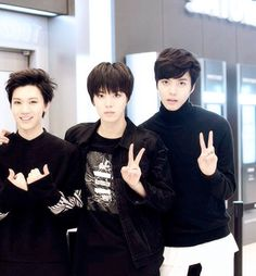 Ten, Yuta and Hansol #SMROOKIES
