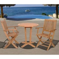Outdoor Bistro Sets on Hayneedle - Outdoor Bistro Table Set