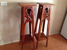 red plant stand - Google Search