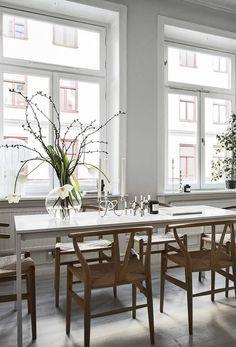 Stylish home in grey - via Coco Lapine Design