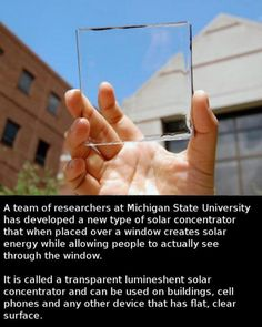 Whoever Came Up With This Is A Genius power companies will say it is dangerous (for them) for us to use this tecnology Solar power energy is so ready to go but people stop it bcuz it'll lose them money ugh Renewable Energy, Solar Energy, Solar Power, Save Our Earth, Wtf Fun Facts, Cool Inventions, The More You Know, Faith In Humanity, Things To Know