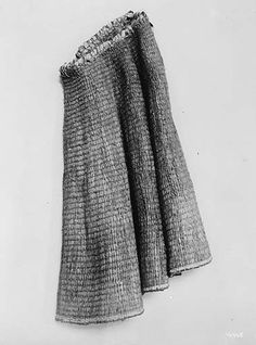 Northwest Coast Indian cape of woven cedar bark, 1909, UW Library American Indians of the Pacific Northwest Collection