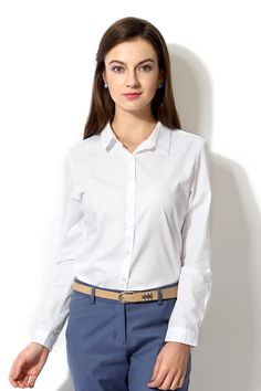 Allen Solly Formal Shirt With Pin Stripe - Buy Women's Formal ...