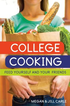 College Cooking...Feed Yourself and Your friends. // I would have loved something like this as a student - time to find high school seniors!