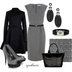 Gray-black for work