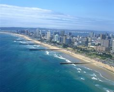 Durban Beachfront - South Africa I will be back. Durban, South Africa Source by scottsouthwood. Paises Da Africa, Africa Art, Places To Travel, Places To Visit, Durban South Africa, South Afrika, Namibia, Kwazulu Natal, Africa Travel
