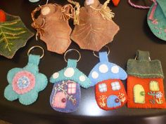Crafts for the school fair.