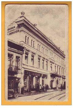 """Casele """"Orenstein-Walter"""" la capatul Strazii """"Lapusneanu"""", Iasi, Romania"""