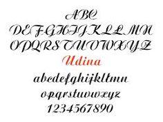 Znalezione obrazy dla zapytania kaligraficzne pismo