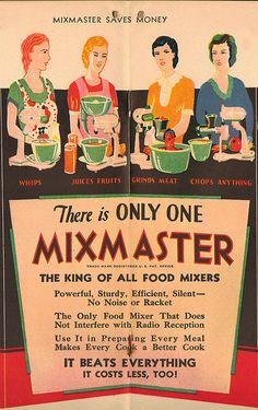 Vintage Mixmaster Ad