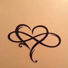 Personalized Heart Infinity Symbol with Heart and Custom Wedding Date Wall Decor - Wedding Gift for. Personalized Heart Infinity Symbol with Heart and Custom Wedding Date Wall Decor - Wedding Gift for Couple - Anniversary Gift - Tattoo 2019 Heart With Infinity Tattoo, Tattoos Infinity, Infinity Tattoo Designs, Heart Tattoo Designs, Infinity Symbol, Heart And Soul Tattoo, Paar Tattoos, Neue Tattoos, Body Art Tattoos