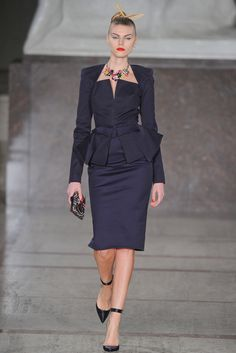 Zac Posen Fall 2012 Ready-to-Wear Collection Slideshow on Style.com