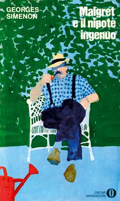 Ferenc Pinter. the character disappears into the strong blue background