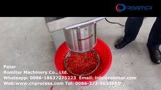 Automatic Fresh Chlii Pepper Crushing Cutting Machine for Sale