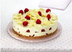 Recette Cheesecake au chocolat blanc et aux framboises