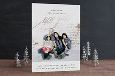 New Adventures Foil-Pressed Holiday Cards by Oscar & Emma at minted.com