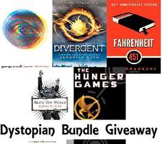 Dystopian Book Bundle Giveaway {USA CA} (04/12/2017) via... sweepstakes IFTTT reddit giveaways freebies contests
