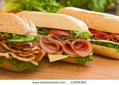 Sandwiches - www.ASilverwareAffair.net can prepare a variety of sandwiches perfect for picnics!  #picnic #corporate #party #food #event #catering #chattanooga
