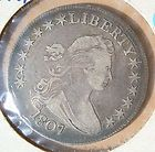 Draped Bust Silver - 1807 P EARLY HALF DOLLAR DRAPED BUSTRARE ESTATE COIN http://www.goldcoinsandbarsonline.com/draped-bust-silver/#