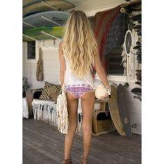 15 chevelures de surfeuses qui font rêver: à vous le beachy hair!