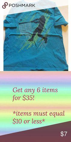 Blue Baseball Tshirt size 7 In good condition! Jumping Beans  Shirts & Tops Tees - Short Sleeve