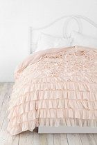 I found a bedspread I want! Waterfall Ruffle Duvet Cover, $149.00-$199.00