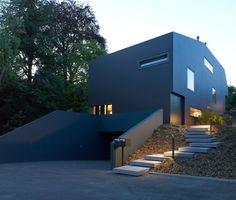 Dezeen » Blog Archive » Schuler Villa by Andrea Pelati Architecte
