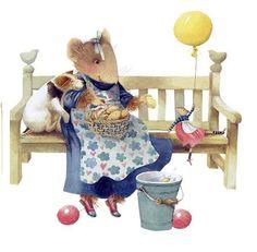 Art of Marjolein Bastin Vera Mouse Tatty Teddy, Marjolein Bastin, Nature Artists, Dibujos Cute, Cute Mouse, Dutch Artists, Beatrix Potter, Clipart, Illustrators