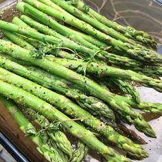 Oven Roasted Asparagus - The Bikini Chef Recipes