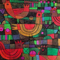 Patchwork Chickens, Alan Colvin
