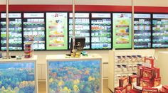 The future of pharmacy product communication is here with fully automated multitouch counter displays and the ApoShelf software, individually developed for OPTIMUM-Media by eyefactive. Pharmacy Store, Counter Display, Store Design, Old Things, Fur, Shelves, Ideas, Home Decor, Shelving