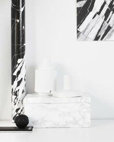 Marble | Black +  White ( via My Dubio)