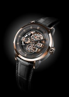 A Giraffe , a King and Christophe Claret's Soprano   Find out why Claret is the Giraffe of watchmaking! #giraffe #watches #time #christies #blog