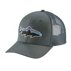 8f5bdf05859c5 Blue Ridge Mountain Outfitters - Patagonia Fitz Roy Trout Trucker Hat