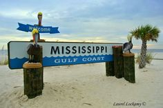 New sign in Gulfport.