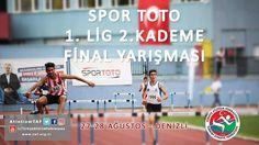 27-28 Ağustos 2016 tarihli Spor Toto 1.Lig 2.Kademe Final Yarışmaları Denizli'de #AtletizmTAF #Athletics #Atletizm #denizli