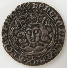 Groat of Henry VI. Date: 1422–27. British. Silver. Overall: 1 x 1/16 in. (2.6 x 0.1 cm)