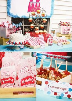 Bright & Fabulous Girly Circus Party // Hostess with the Mostess® Circus theme birthday party ideas and inspiration Circus Party Foods, Circus Carnival Party, Carnival Birthday Parties, Circus Birthday, Circus Theme, First Birthday Parties, Birthday Party Themes, Birthday Ideas, Birthday Recipes