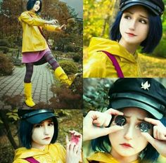 She looks just like the real life Coraline!