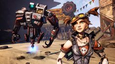 With Borderlands 2 barely a month old, the first DLC is with us already in the form of the fifth playable character – the Mechromancer. Microsoft Windows, Playstation, Xbox One, Statues, Borderlands 1, Pokemon Firered, Final Fantasy Vi, Steampunk Costume, Game Character