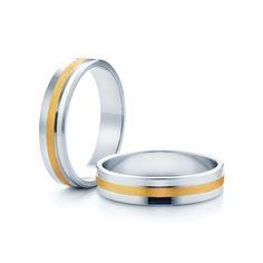 SAVICKI - Obrączki ślubne: Obrączki z dwukolorowego złota (Nr 57) - Biżuteria od 1976 r.