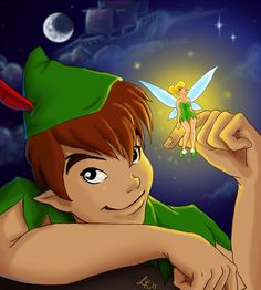 Peter Pan and Tink by Faerytale-Wings on deviantART Disney Duos, Disney Films, Disney Pixar, Walt Disney, Disney Characters, Tinkerbell 3, Peter Pan And Tinkerbell, Peter Pan Disney, Disney Fan Art